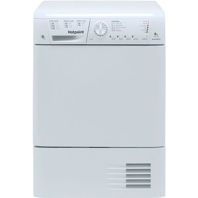 Hotpoint TCHL870BP 8Kg Condenser Tumble Dryer - White - B Rated