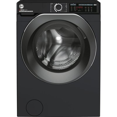 Hoover H-WASH 500 HW411AMBCB/1 Wifi Connected 11Kg Washing Machine with 1400 rpm - Black - A+++ Rated