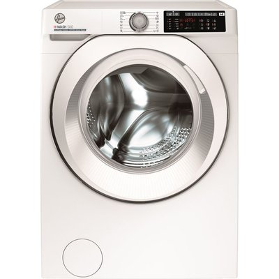 Hoover H-WASH 500 HW411AMC/1 Wifi Connected 11Kg Washing Machine with 1400 rpm - White - A+++ Rated