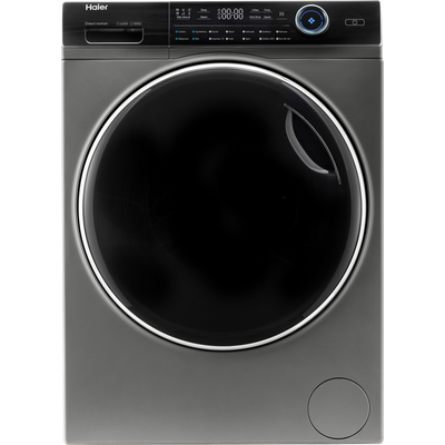 Haier i-Pro series 7 HW80-B14979S 8Kg Washing Machine with 1400 rpm - Graphite - A+++ Rated