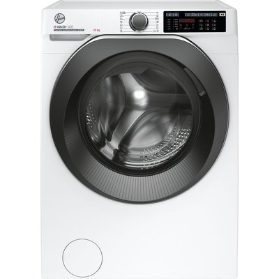 Hoover H-WASH 500 HWD610AMBC/1 Wifi Connected 10Kg Washing Machine with 1600 rpm - White - A+++ Rated