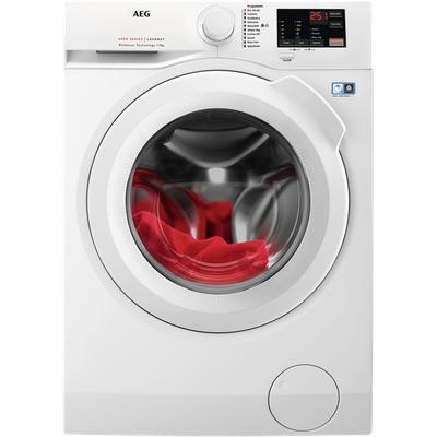 AEG ProSense Technology L6FBJ741N 7Kg Washing Machine with 1400 rpm - White - A+++ Rated