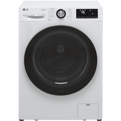 LG V10 F6V1010WTSE Wifi Connected 10.5Kg Washing Machine with 1600 rpm - White - A Rated