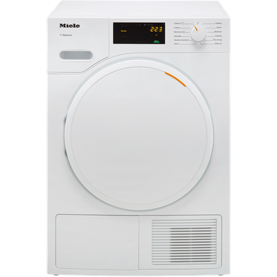 Miele T1 TSB143WP 7Kg Heat Pump Tumble Dryer - White - A++ Rated