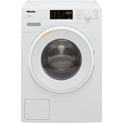 Miele W1 WSD123 8Kg Washing Machine with 1400 rpm - White - A Rated