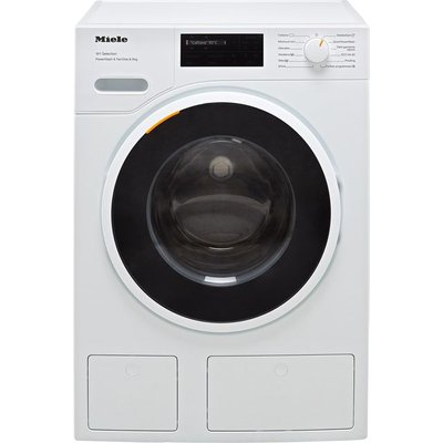 Miele W1 WSI863 Wifi Connected 9Kg Washing Machine with 1600 rpm - White - A Rated