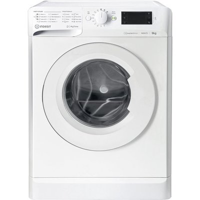 Indesit My Time MTWE91483WUK 9Kg Washing Machine with 1400 rpm - White - A+++ Rated