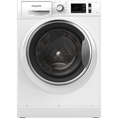 Hotpoint NM111044WCAUKN 10Kg Washing Machine with 1400 rpm - White - A+++ Rated