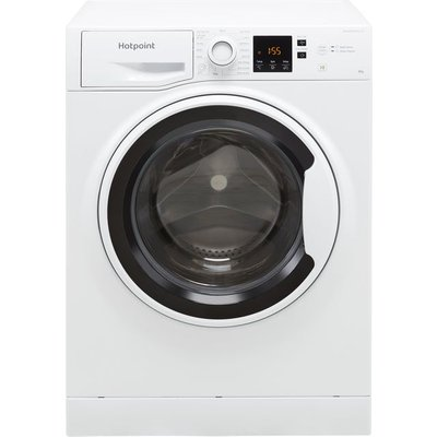 Hotpoint NSWA843CWWUKN 8Kg Washing Machine with 1400 rpm - White - D Rated
