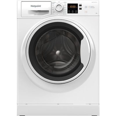 Hotpoint NSWA843CWWUKN 8Kg Washing Machine with 1400 rpm - White - A+++ Rated