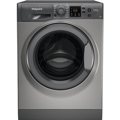 Hotpoint NSWM742UGGUKN 7Kg Washing Machine with 1400 rpm - Graphite - A+++ Rated