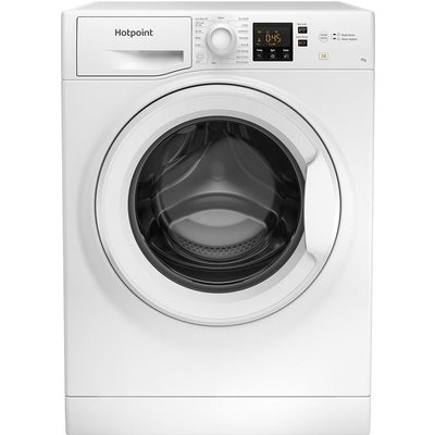 Hotpoint NSWM742UWUKN 7Kg Washing Machine with 1400 rpm - White - A+++ Rated