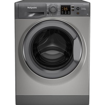 Hotpoint NSWM943CGGUKN 9Kg Washing Machine with 1400 rpm - Graphite - A+++ Rated