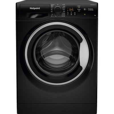 Hotpoint NSWM963CBSUKN 9Kg Washing Machine with 1600 rpm - Black - A+++ Rated