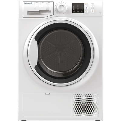 Hotpoint NTM1081WKUK 8Kg Heat Pump Tumble Dryer - White - A+ Rated