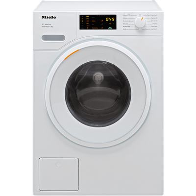 Miele W1 WSD323 8Kg Washing Machine with 1400 rpm - White - A Rated