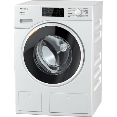 Miele W1 WSG663 Wifi Connected 9Kg Washing Machine with 1400 rpm - White - A Rated