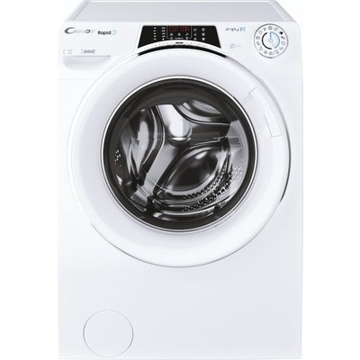 Candy Rapido RO16106DWMCE Wifi Connected 10Kg Washing Machine with 1600 rpm - White - A Rated