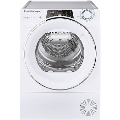 Candy Rapido ROH10A2TCE Wifi Connected 10Kg Heat Pump Tumble Dryer - White - A++ Rated