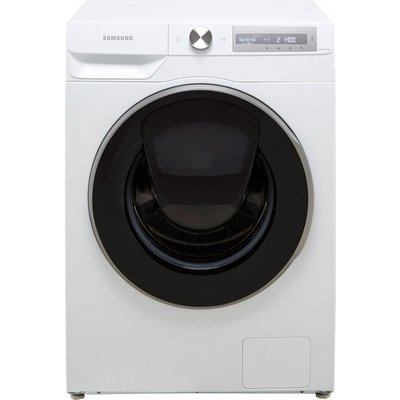 """Samsung Series 6 AddWashâ""""¢ AutoDoseâ""""¢ WW80T684DLH Wifi Connected 8Kg Washing Machine with 1400 rpm - White - B Rated"""