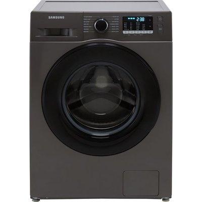 "Samsung Series 5 ecobubbleâ""¢ WW80TA046AX 8Kg Washing Machine with 1400 rpm - Graphite - B Rated"
