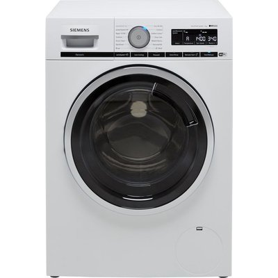 Siemens IQ-500 WM14VPH3GB Wifi Connected 9Kg Washing Machine with 1400 rpm - White - B Rated