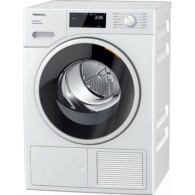 Miele T1 TSF643WP 8Kg Heat Pump Tumble Dryer - White - A+++ Rated