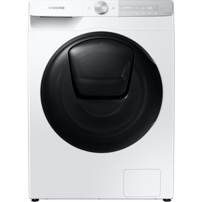 """Samsung Series 8 QuickDriveâ""""¢ AddWashâ""""¢ WW90T854DBH Wifi Connected 9Kg Washing Machine with 1400 rpm - White - A Rated"""