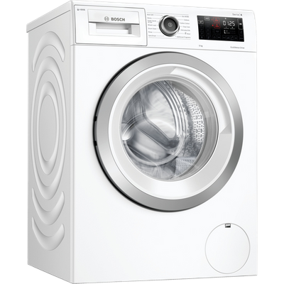 """Bosch Serie 6 i-Dosâ""""¢ WAU28PH9GB Wifi Connected 9Kg Washing Machine with 1400 rpm - White - C Rated"""
