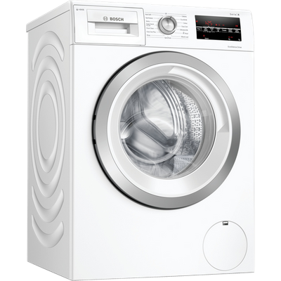 "Bosch Serie 6 i-Dosâ""¢ WAU28S80GB 8Kg Washing Machine with 1400 rpm - White - A+++ Rated"