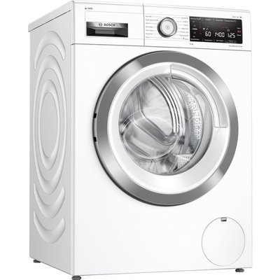 "Bosch Serie 8 i-Dosâ""¢ WAV28KH3GB Wifi Connected 9Kg Washing Machine with 1400 rpm - White - A+++ Rated"