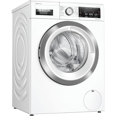 Bosch Serie 8 WAX32LH9GB Wifi Connected 9Kg Washing Machine with 1600 rpm - White - A+++ Rated