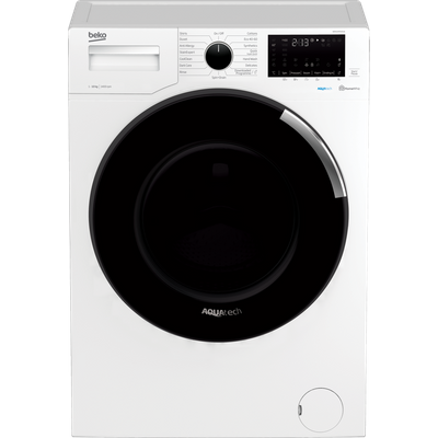 Beko WER104P64E1W 10Kg Washing Machine with 1400 rpm - White - A+++ Rated