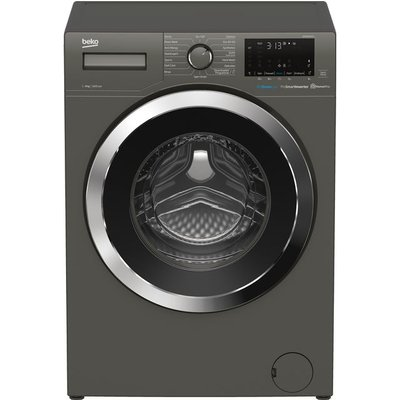 Beko WER860541G 8Kg Washing Machine with 1600 rpm - Graphite - A+++ Rated