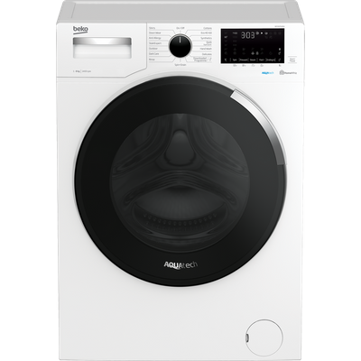Beko WEY84P64EW 8Kg Washing Machine with 1400 rpm - White - A+++ Rated