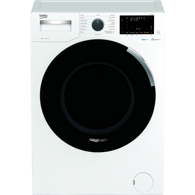Beko WEY94P64EW 9Kg Washing Machine with 1400 rpm - White - A+++ Rated