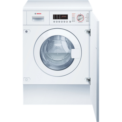 Bosch Serie 6 WKD28542GB Integrated 7Kg / 4Kg Washer Dryer with 1400 rpm - White - B Rated