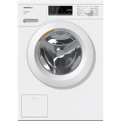 Miele W1 WSA023 7Kg Washing Machine with 1400 rpm - White - B Rated
