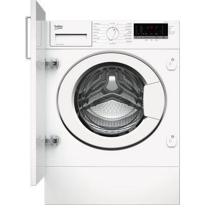 Beko WTIK72151 Integrated 7Kg Washing Machine with 1200 rpm - White - A+++ Rated