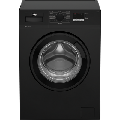 Beko WTL64051B 6Kg Washing Machine with 1400 rpm - Black - A+++ Rated