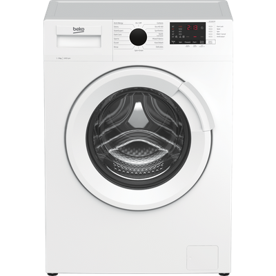 Beko WTL94121W 9Kg Washing Machine with 1400 rpm - White - A+++ Rated