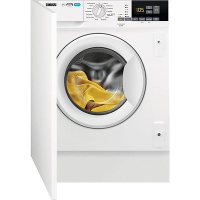 Zanussi Z816WT85BI Integrated 8Kg / 4Kg Washer Dryer with 1600 rpm - White - E Rated