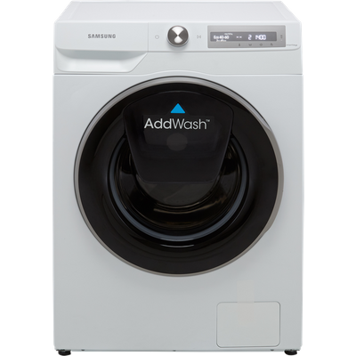 """Samsung Series 6 AddWashâ""""¢ AutoDoseâ""""¢ WW10T684DLH Wifi Connected 10.5Kg Washing Machine with 1400 rpm - White - A Rated"""
