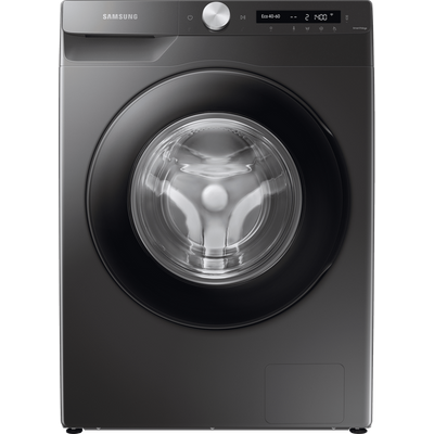 """Samsung AutoDoseâ""""¢ WW80T534DAN Wifi Connected 8Kg Washing Machine with 1400 rpm - Graphite - A+++ Rated"""