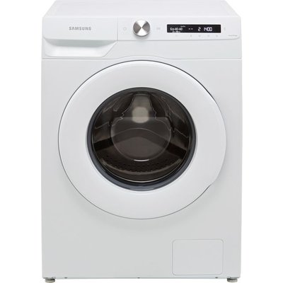 """Samsung Series 5+ AutoDoseâ""""¢ WW80T534DTW Wifi Connected 8Kg Washing Machine with 1400 rpm - White - B Rated"""