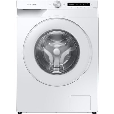 """Samsung AutoDoseâ""""¢ WW80T534DTW Wifi Connected 8Kg Washing Machine with 1400 rpm - White - A+++ Rated"""
