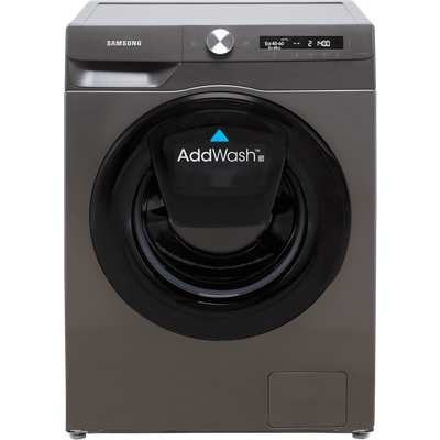 """Samsung Series 5+ AddWashâ""""¢ WW80T554DAN Wifi Connected 8Kg Washing Machine with 1400 rpm - Graphite - B Rated"""