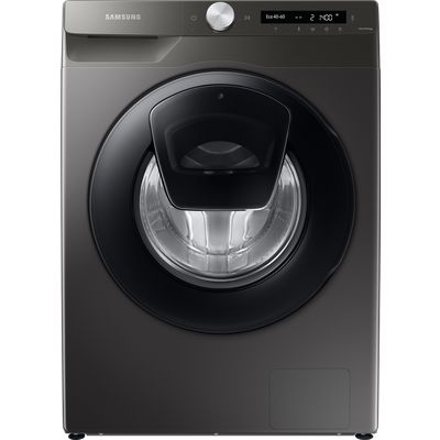 "Samsung AddWashâ""¢ ecobubbleâ""¢ WW80T554DAN Wifi Connected 8Kg Washing Machine with 1400 rpm - Graphite - A+++ Rated"