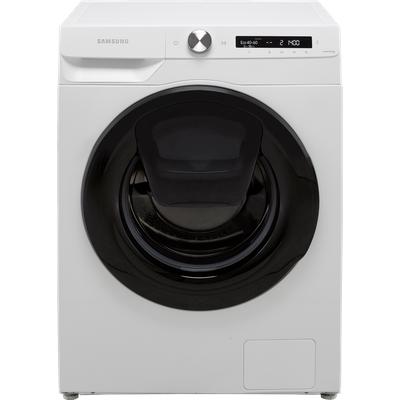 "Samsung Series 5+ AddWashâ""¢ WW80T554DAW Wifi Connected 8Kg Washing Machine with 1400 rpm - White - B Rated"