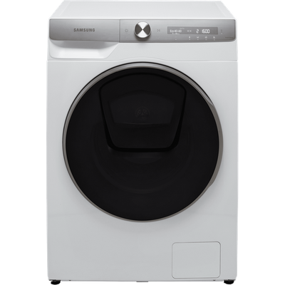 """Samsung Series 9 QuickDriveâ""""¢ AddWash WW90T986DSH Wifi Connected 9Kg Washing Machine with 1600 rpm - White - A Rated"""